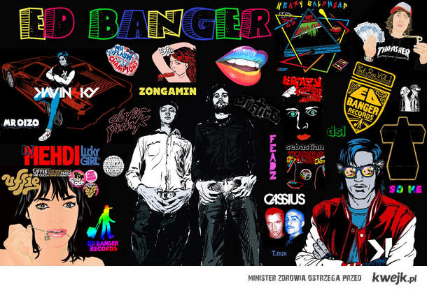 Ed Banger records <3