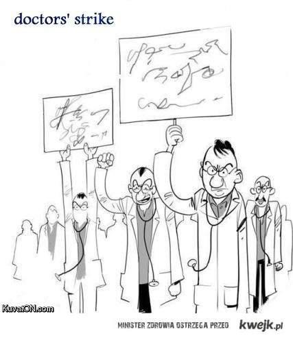 Strajk doktorów