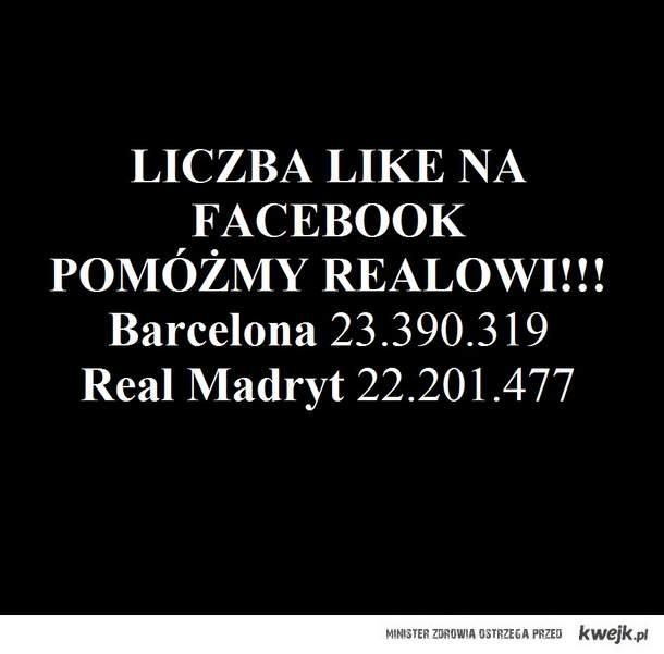 Barca vs. Real - facebook