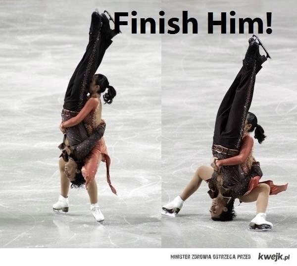 finish him