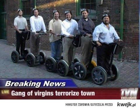 virgin terror