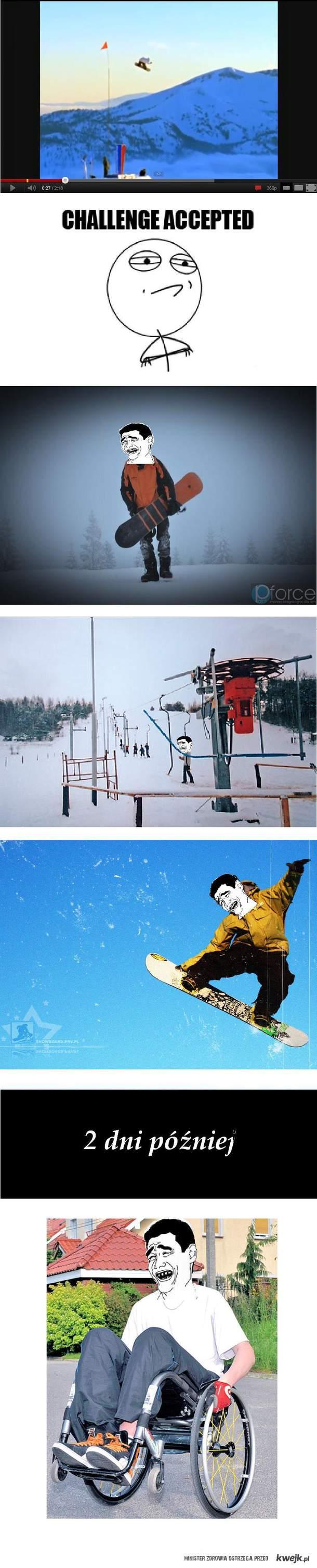 Pro snowboardzista ;D