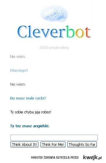 cleverbot o cyckach