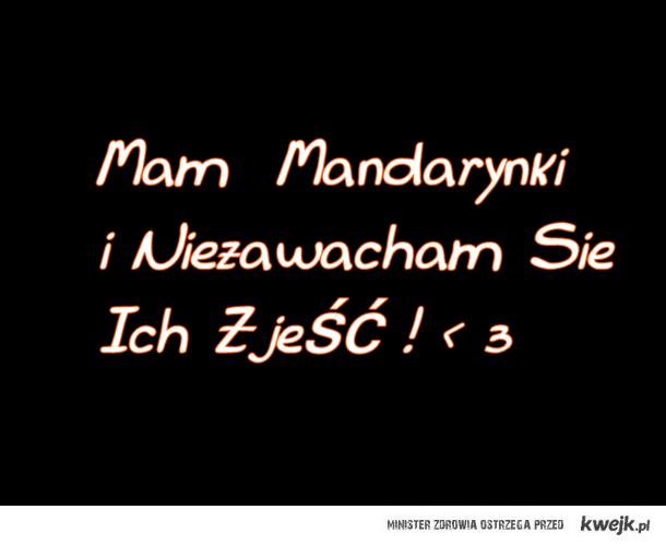 Mandarynki  : D