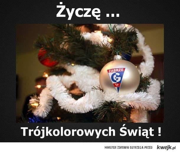Trójkolorowych Świąt !