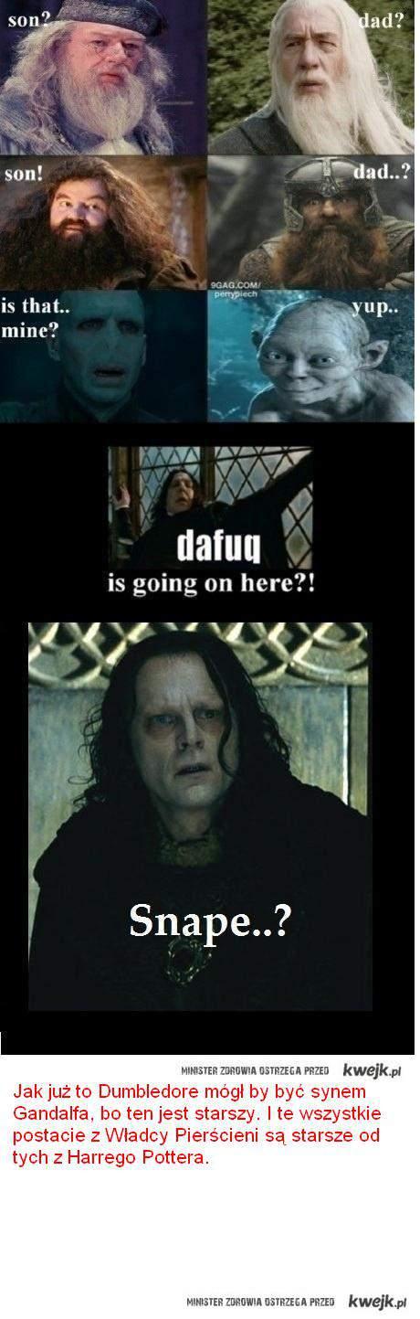 Gandalf i Dumbledore
