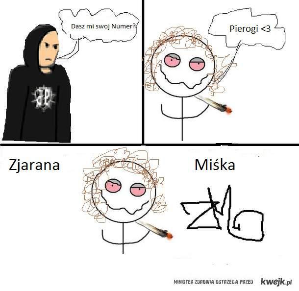 Zjarana Miska