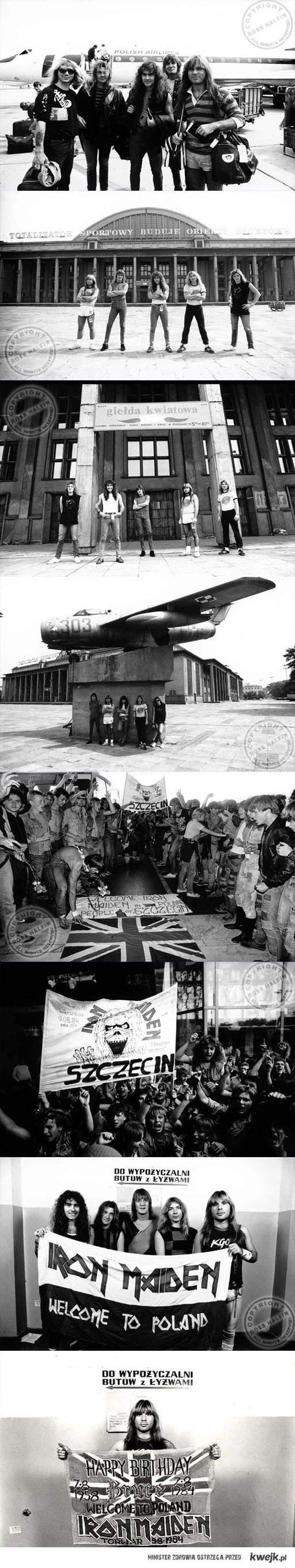 Iron Maiden Poland 1984