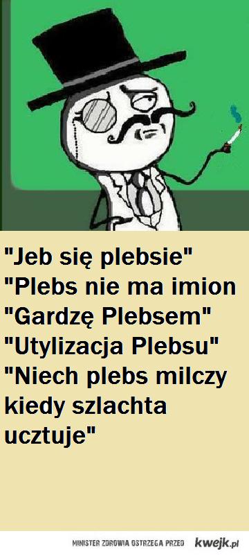 Cytaty Plebs