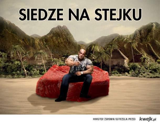 siedzę na stejku :D