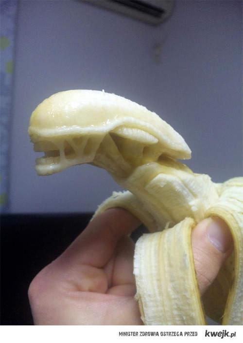 bananowy alien