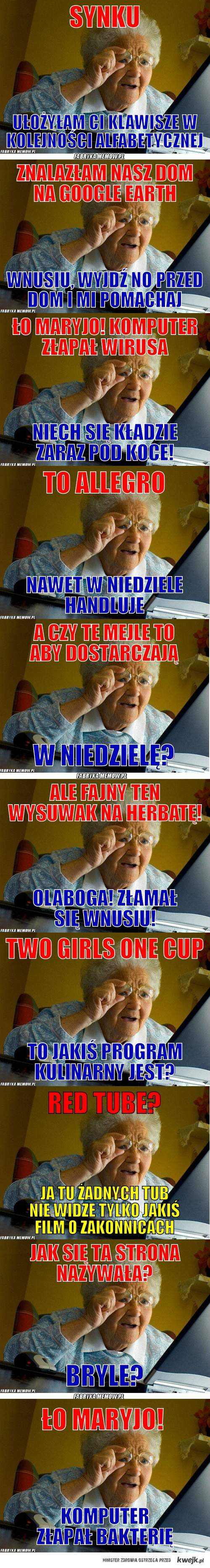 twoja babcia. :D