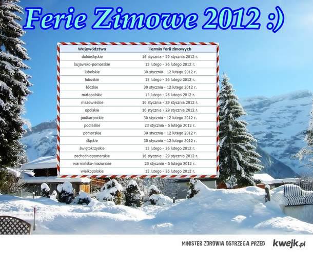 Ferie Zimowe 2012 (;