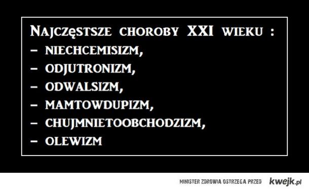 Choroby XXI w