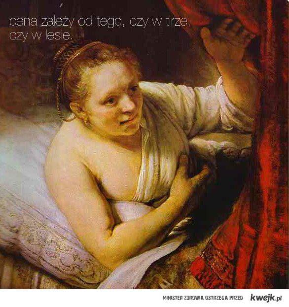 prostytutka Rembranta