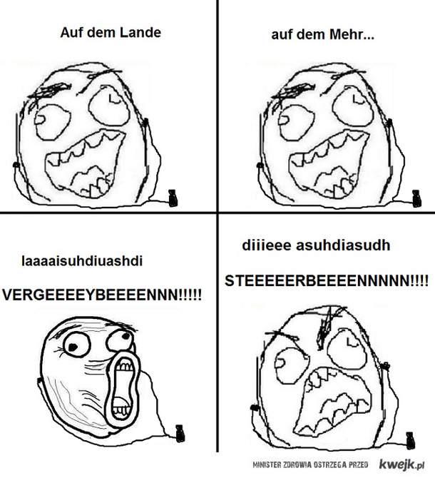 STEEEEEERBEEEEEN!!! Waidmanns Heil!