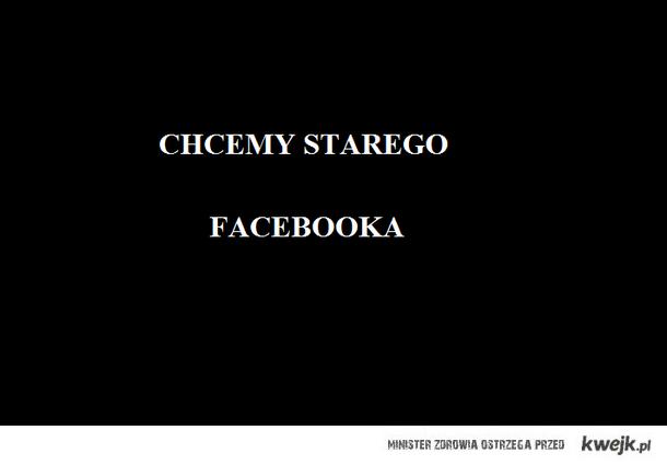 CHCEMY STAREGO FACEBOOKA