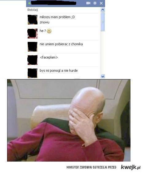 chomikuj - faceplam