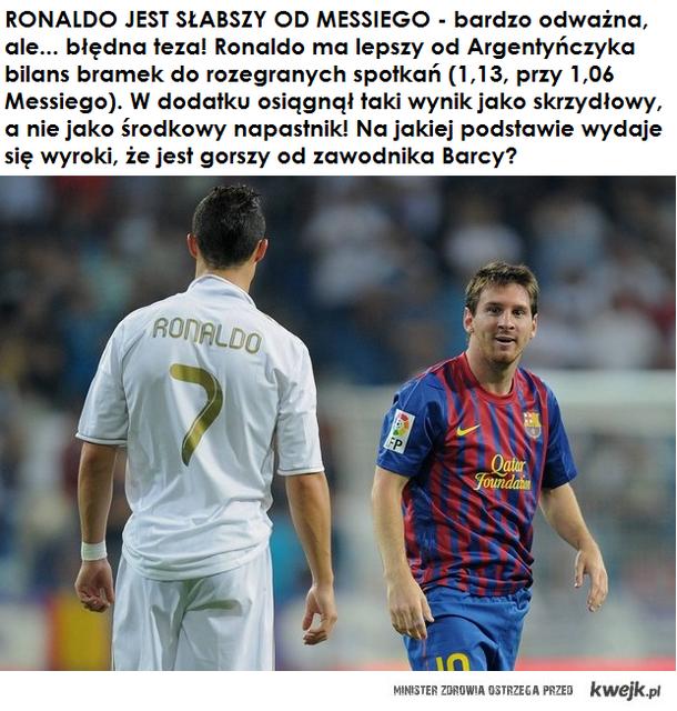 Ronaldo niedoceniany