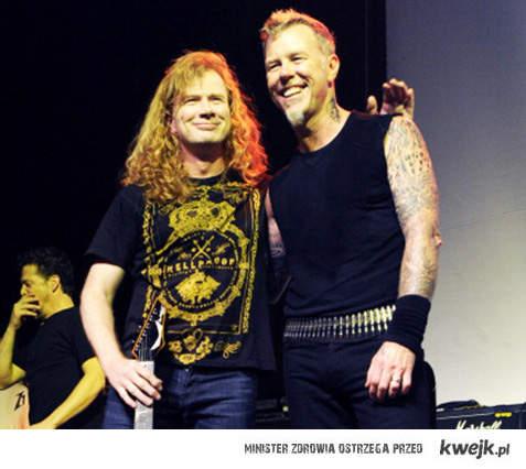 Metallica + Dave Mustaine razem po 28 latach