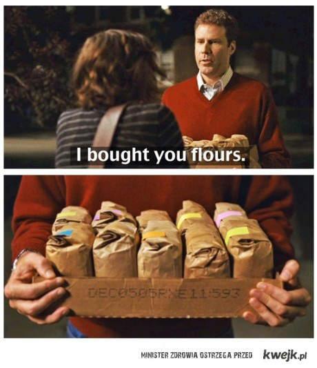 przyniosłem mąki