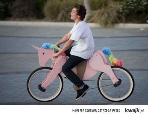 rowerowy unicorn