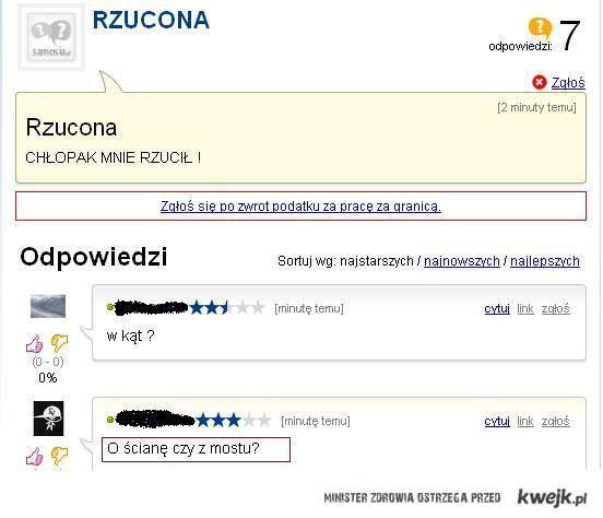 Rzucona