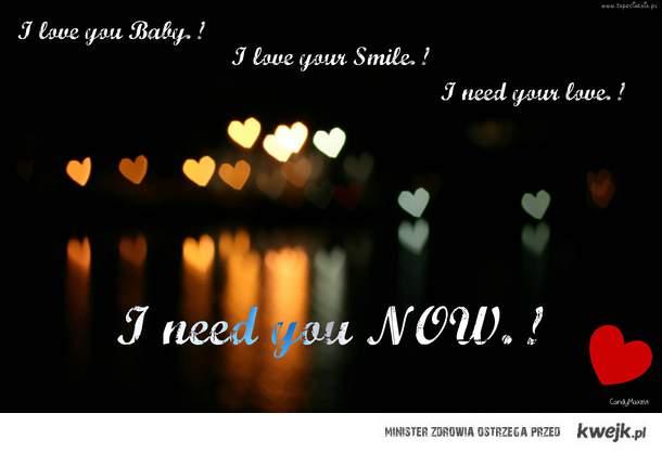 I LOVE YOU. !