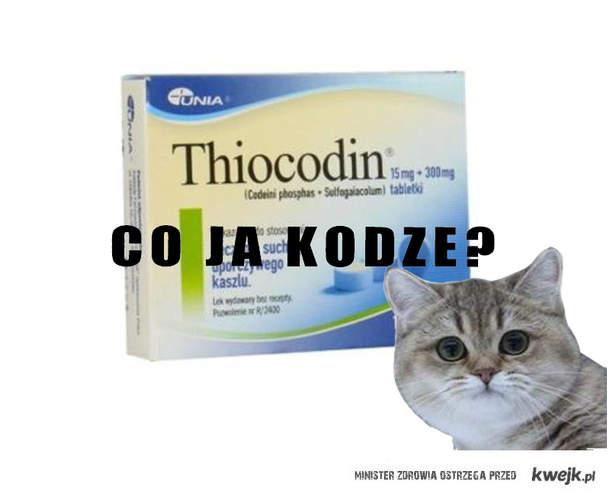 Thiocodin = Kodeina