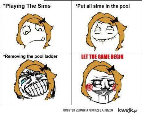 grajac w simsy