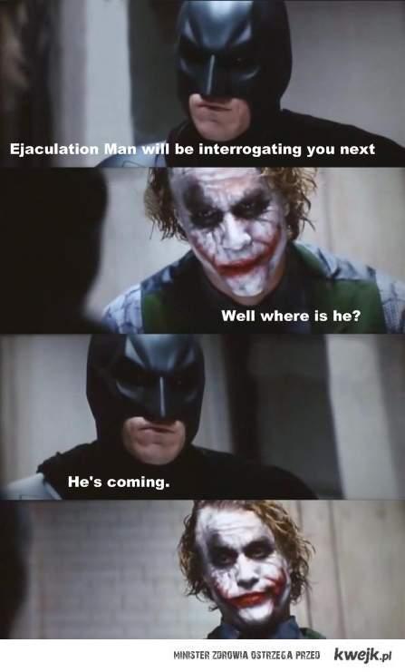 ejaculation man