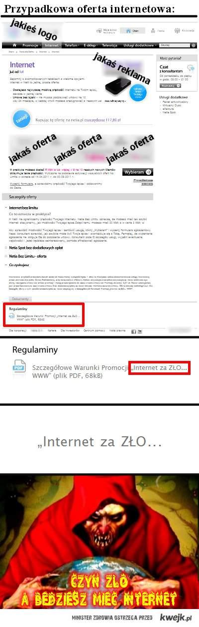 Oferta internetu