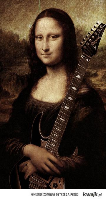 Dama z Gitarą