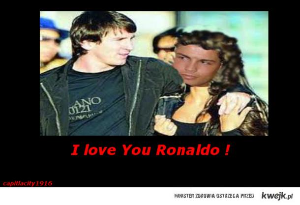 Messi and C.ronaldo