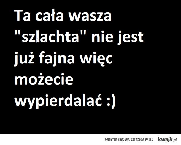 """""""szlachta"""""""