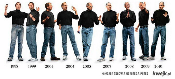 Steve Jobs Jeans :) I like it!