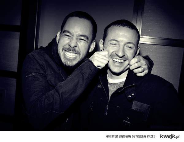 Mike and Chester <3   LP ! <3