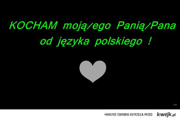 Kocham, kocham, kocham !