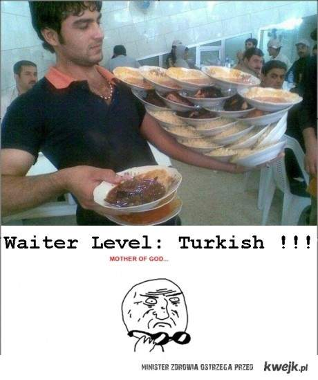 turecki kelner