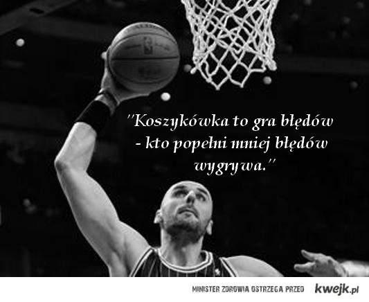 Koszykówka to gra błędów