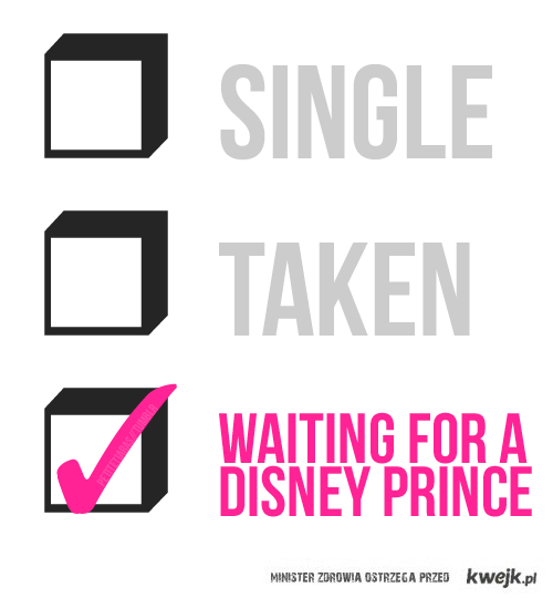 waiting for a disney prince