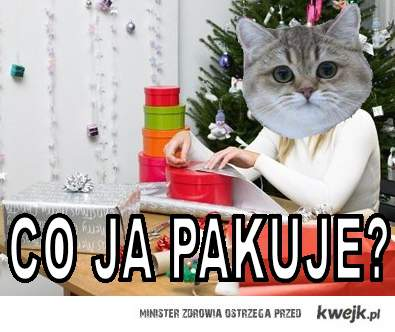 Co ja pakuje?