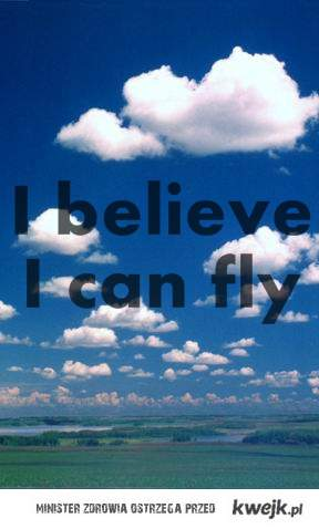 i can fly .