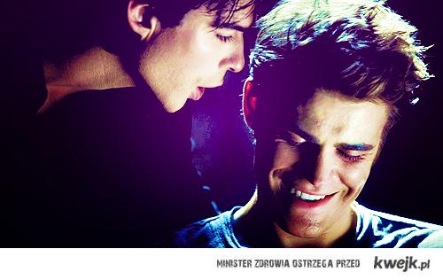 Damon and Stefan. <3