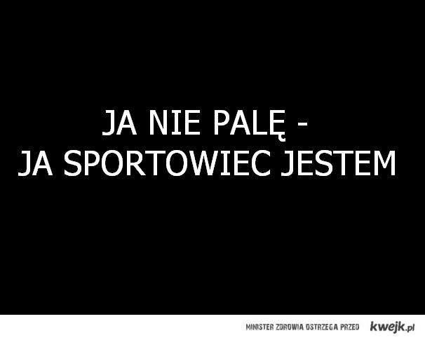 ja sportowiec jestem