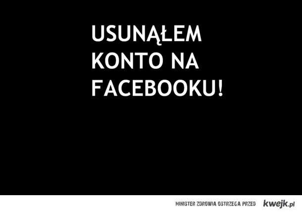 Koniec Facebooka.