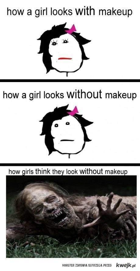bez makijazu