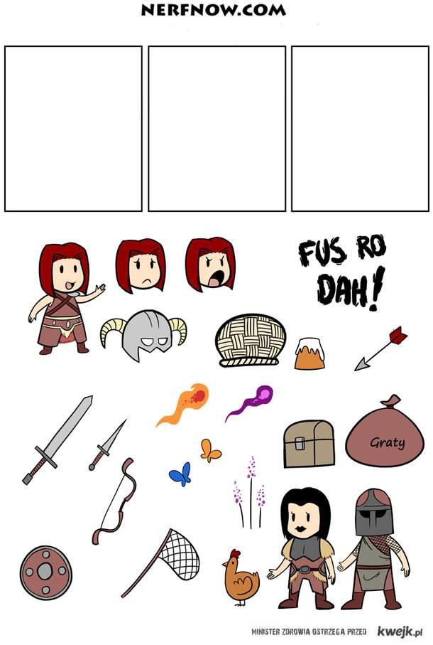 Stwórz własny komiks o Skyrim