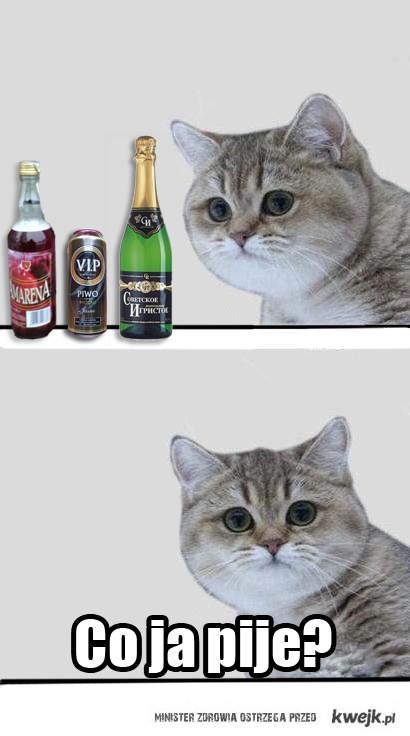 Co ja pije ?