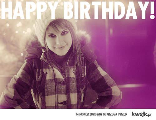 Happy birthday Hayley!